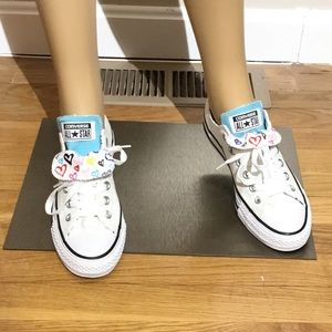 Brand New,Double Tongue Converse All Star Sneakers